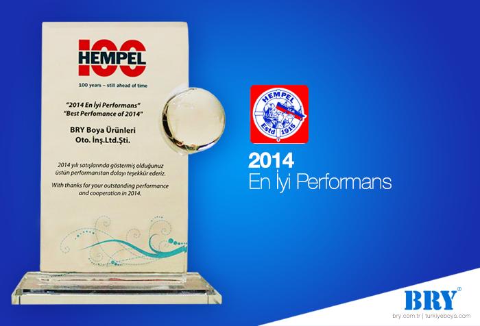 2014 En İyi Performans Ödülü