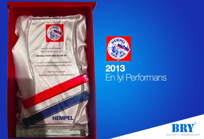 2013 En İyi Performans Ödülü